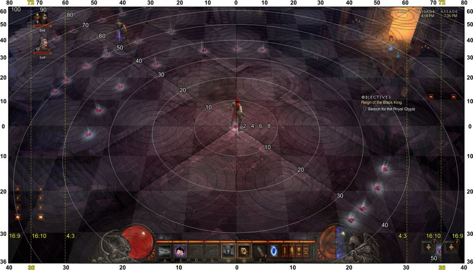 Diablo 3 Distance Map