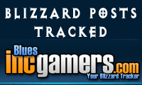 Blizzard Posts Tracked