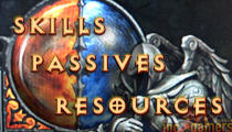 Skills Passives Resources