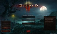 Diablo III New Log In Screen