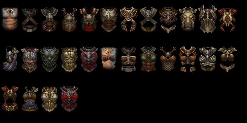 A Look at the Diablo 3 Beta Items, Armors and More