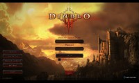 Diablo 3 Log In Screen Old