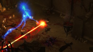 Wizard melting cultists with Disintegrate 4