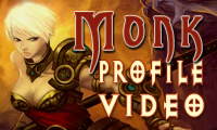 Diablo 3 Monk Profile Video