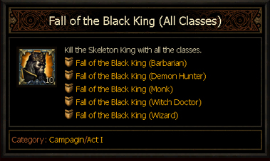 Achievement - Fall of the Black King