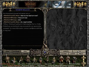 Battle.Net Chat for Diablo 2