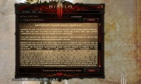 The Diablo 3 Retail Version Installer Screens