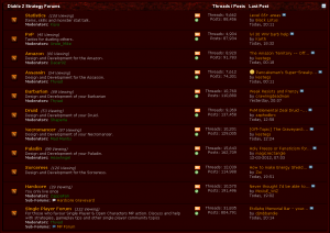 Diablo 2 Forums Remained Active