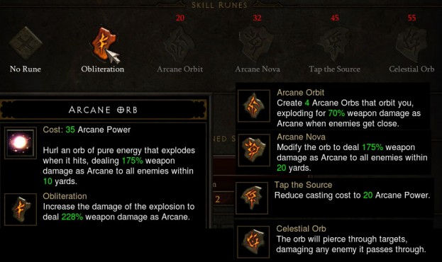 Arcane Orb Runes - Patch 14