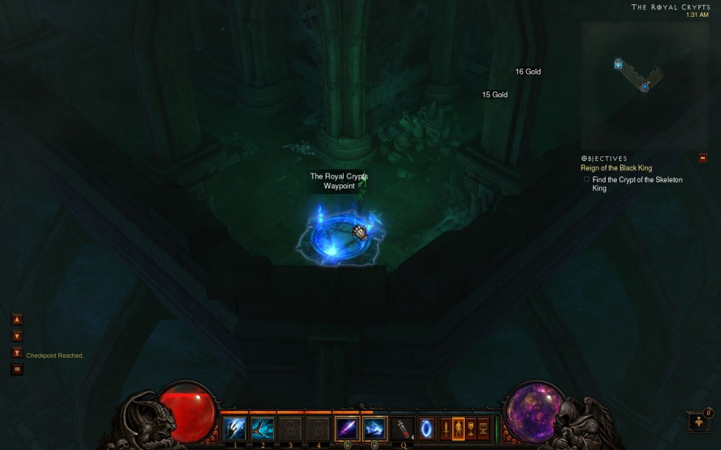 Royal Crypts Waypoint - Patch 14