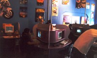 The Reality-X videogame cafe