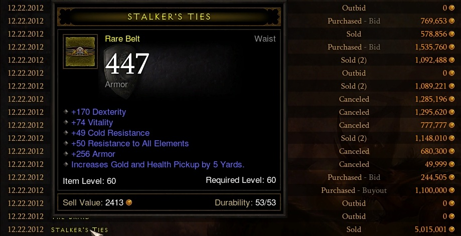 Strategy guide which diablo 3 rare items are the best to for Valuable items to sell