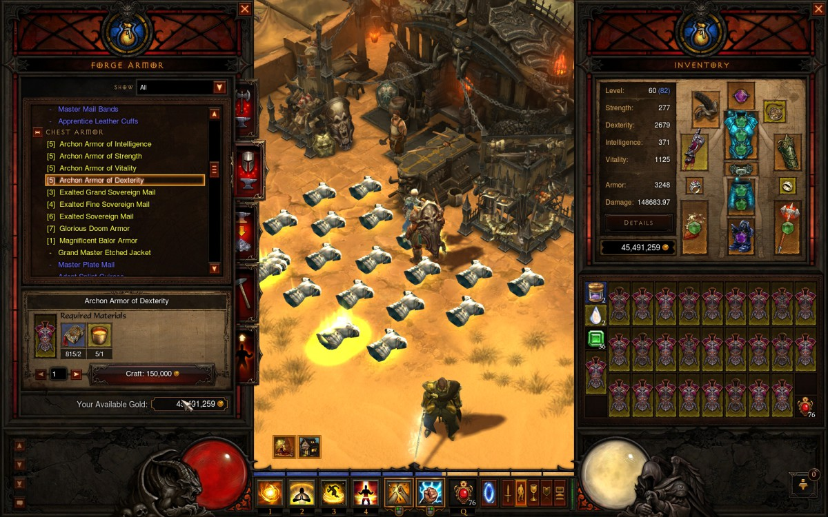 Diablo 3 crafting is much improved in patch for Diablo 3 crafting items