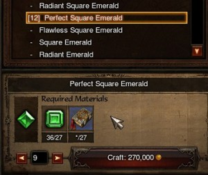 Automated crafting interface.