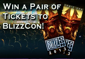 Win a Pair of tickets to BlizzCon 2013
