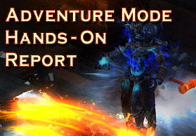 Adventure Mode Hands-On Report
