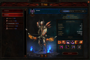 Demon Hunter profile.