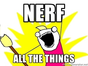 NERF ALL THE THINGS