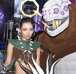 Giant Diablo Cosplay Gallery: RoS Launch Parties and More