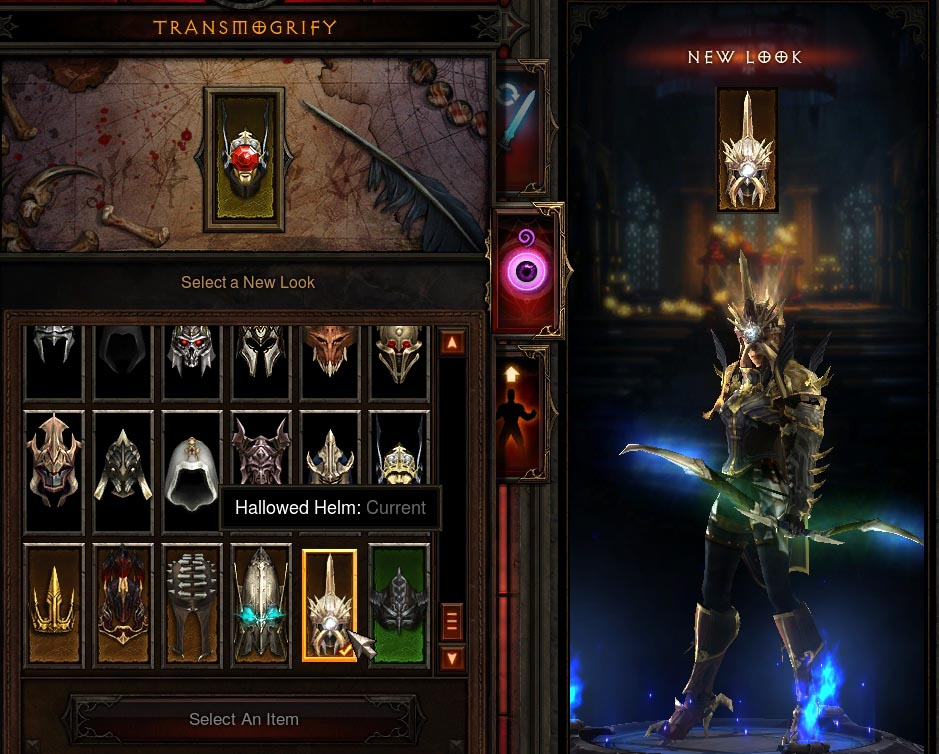 Reaper of Souls Collector's Edition Transmog Items
