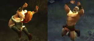 differences in barbarian'sleap