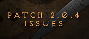 patch 2.0.4 known issues and bugs