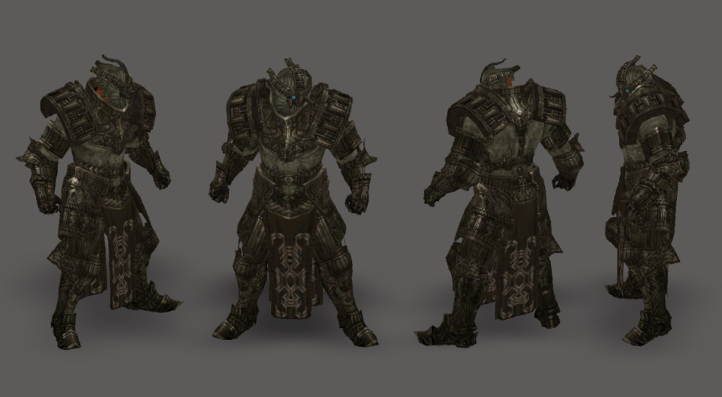 Diablo 3 Ultimate Evil Edition exclusive Shadow of the Colossus Transmog Set