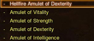 Obtaining the Hellfire Amulet