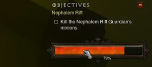 Nephalem Rifts with Insufficient Monsters
