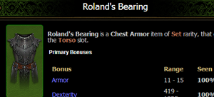 Roland's Bearing