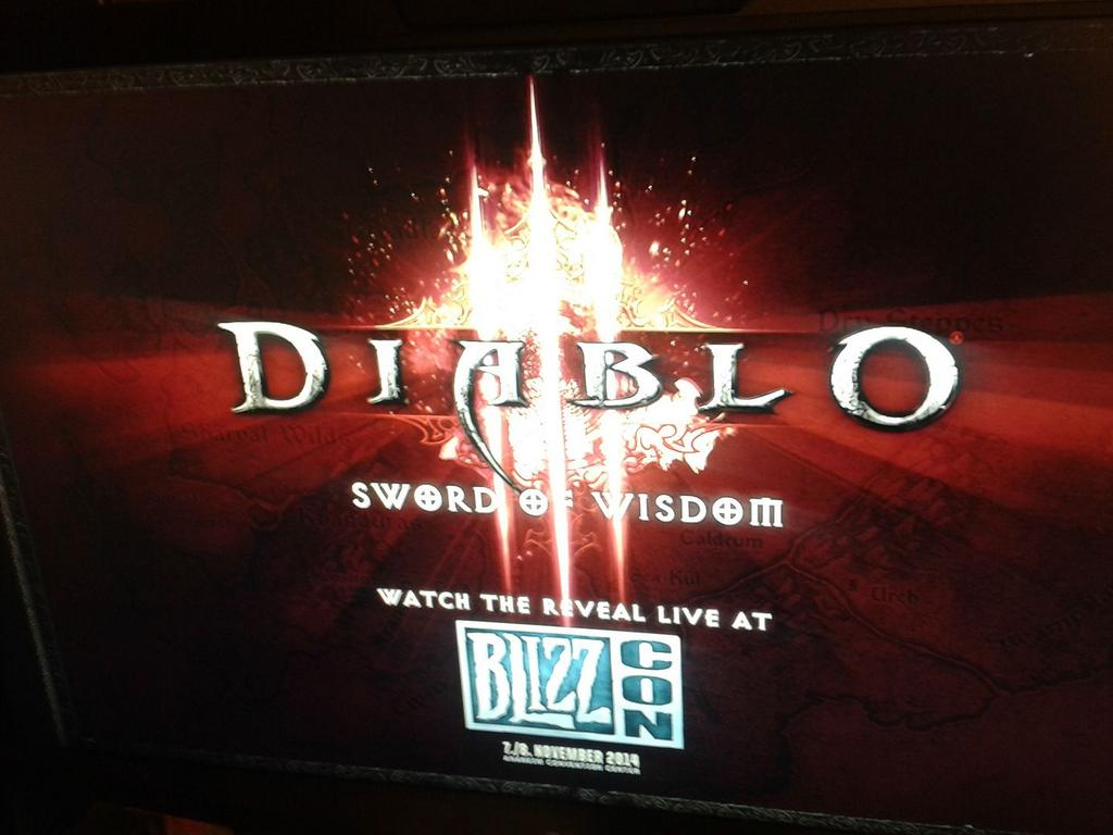 Update Blizzard Denial Diablo 3 Sword Of Wisdom Expansion At