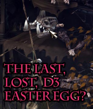 Goatmen and Hydralisk Skull: Lost Diablo 3 Easter Egg Spotted