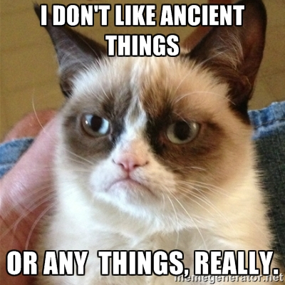 grumpy cat ancient items