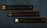 New objectives