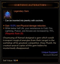 Esoteric Alteration
