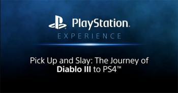 Diablo 3 Playstation Experience
