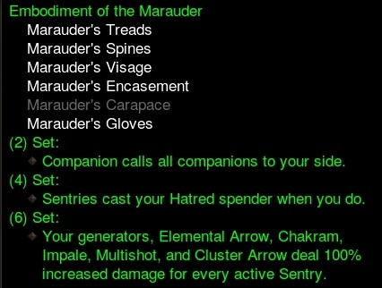 Marauder's Set Change (Nerf) Hits the PTR