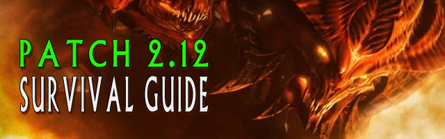 Diablo 3 patch 2.12 Survival Guide