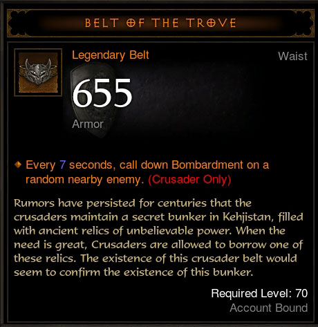 Belt of the Trove