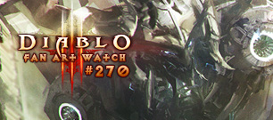 Diablo Fan Art Watch #270: Cyber Diablo III