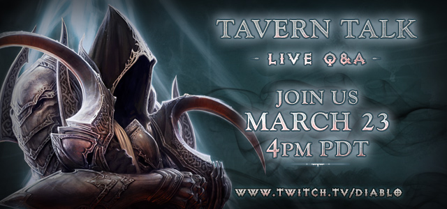 Reaper of Souls Live Chat March 23