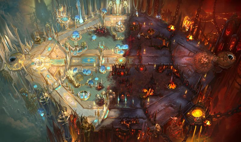 Heroes Of The Storm Maps Diablo Themed Heroes of the Storm Map