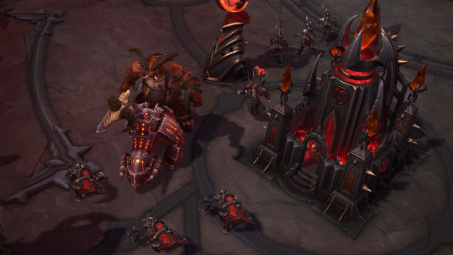Back At Blizzcon 2014 We Saw A Sneak Perview Of An Upcoming Map For Heroes The Storm That Was Entirely Diablo Themed Shifted From Angelic Light