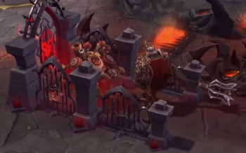 Leoric brings the Cemetery Gates.