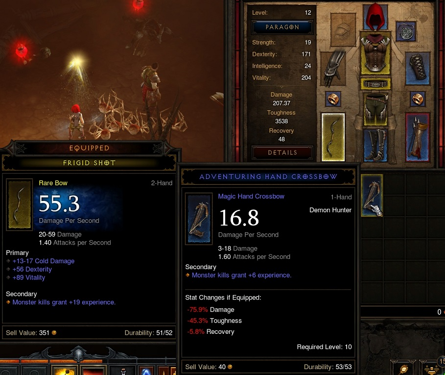 Diablo  Player Crafted