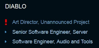 Blizzard Jobs Page