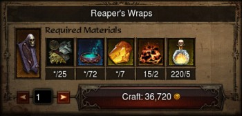 Patch 2.2 crafting.