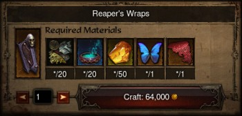 Patch 2.3 crafting.
