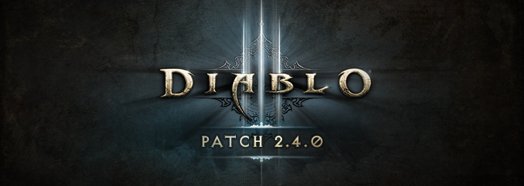 Diablo 3 Patch 2.4.0 Now Live on the PTR