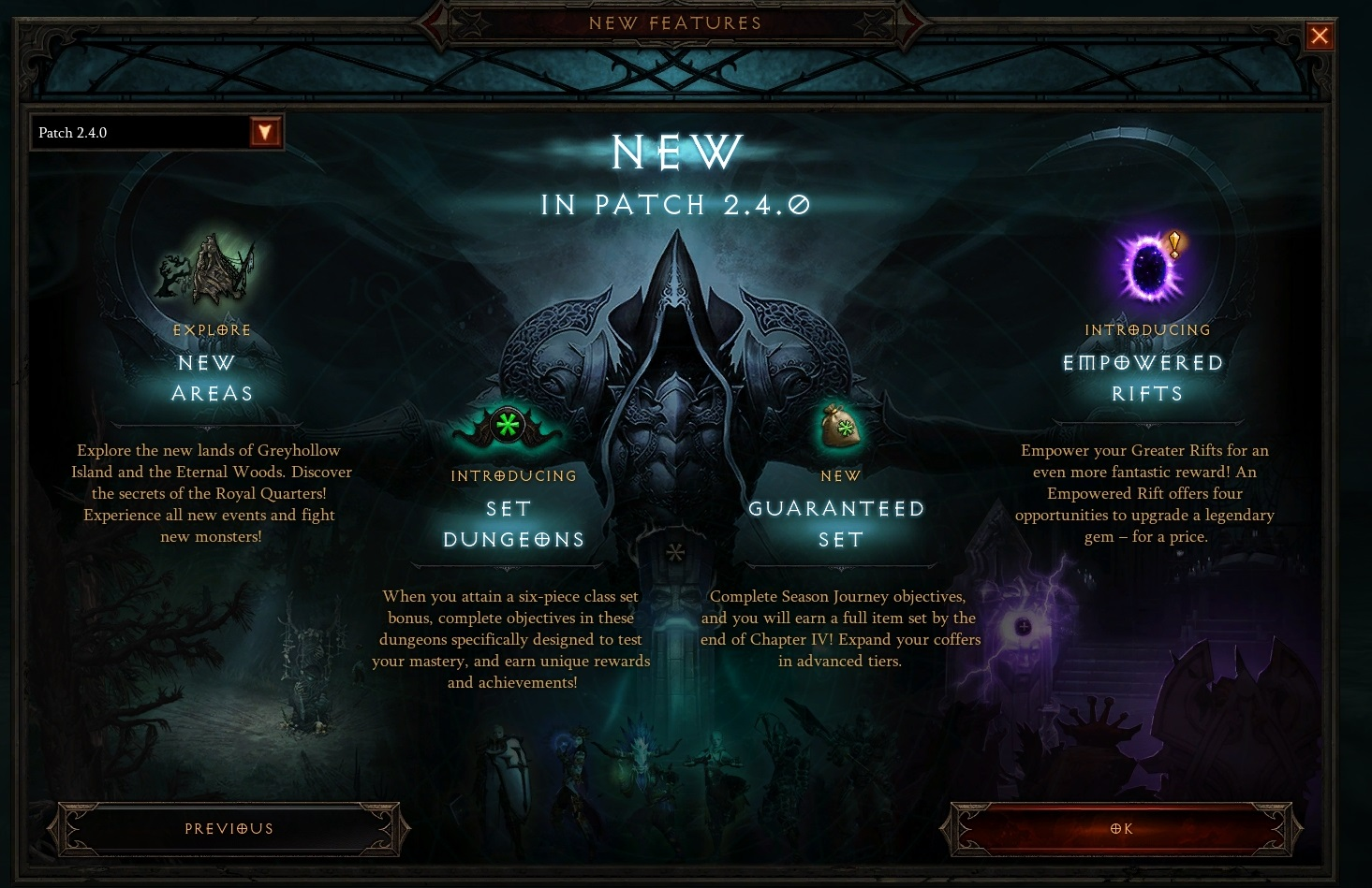 Diablo 3 Patch 2.4.0 Known Issues